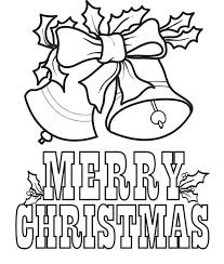 Free Printable Christmas Coloring Page For Kids Of Christmas Bells