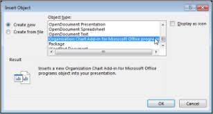 Open The Organization Chart Add In For Office Office Support