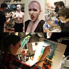 no previous airbrushing or art experience is necessary to take the art of airbrushing work fx artist instructor dallas harvey will take students