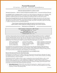 Collection Of Solutions Management Consulting Resume Sample Guide To