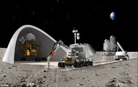 space home. Building A Home Both On Earth And The Moon Could Soon Be Matter Of Pressing Space E