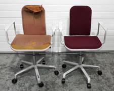 office chair reupholstery. Exellent Reupholstery Hille Supporto Chair On Office Chair Reupholstery I