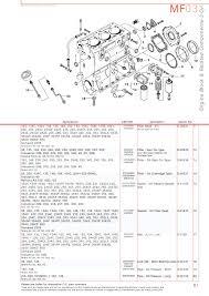 massey ferguson engine page 91 sparex parts lists diagrams ferguson to20 12 volt wiring diagram at Ferguson T20 Wiring Diagram