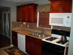 Full Size Of Kitchen Small Makeovers Simple On A Budget With Brown Cabinet  Easy Ideas ...