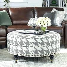 diy fabric ottoman coffee table fabric ottomans with storage round intended for round fabric ottoman coffee