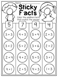 Kindergarten Addition and Subtraction Worksheets (up to 10) | Kinder ...