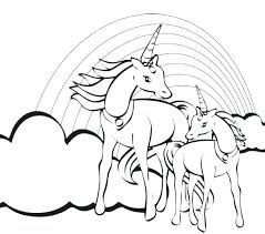 Unicorn Coloring Pages For Adults Coloring For Babies Amvame
