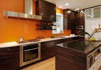 modern kitchen wall colors. Modern Kitchen Wall Colors With Brown Cabinets