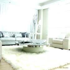 white furry rug furry rugs round black rug for living room white white furry rug