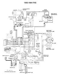 sh_wiring_dia_fxe_83 84_1 harley diagrams and manuals on 77 fxe solenoid wiring diagram