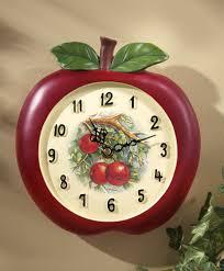 Apple Wall Decor Kitchen White Kitchen Wall Clocks Awesome Designer Kitchen Wall Clocks