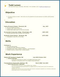 Examples Of An Objective For A Resume Resume Template Splendid Resume Objective Examples For General 43