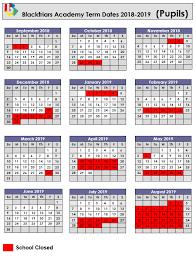 Term dates - Blackfriars Academy