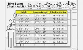 Specialized Bike Frame Size Chart 52 Clean Trek Frame Size Chart