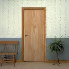 masonite smooth flush hardwood hollow core birch veneer posite interior door slab 16708 the