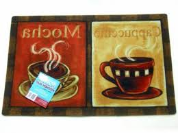 nice coffee cup kitchen rugs within