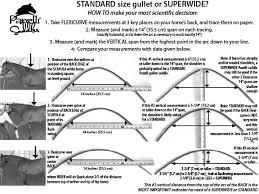 Western Saddle Seat Size Chart Tree Gullet Sizing Chart From Parelli Saddles Saddles