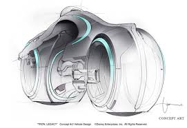 tron legacy light cycle designers made