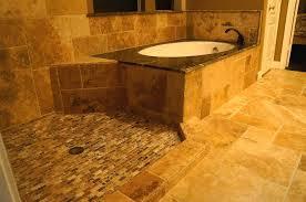 photo of hfc houston tx united states bathroom remodeling travertine tile