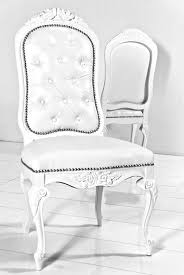 white leather dining room chairs. Monte Carlo Dining Chair In White Faux Leather Room Chairs