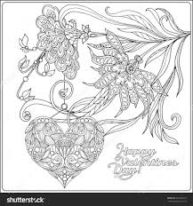 Small Picture Valentines Day Coloring Pages For Adults diaetme