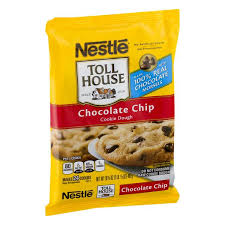 nestle toll house chocolate chip cookie dough 24ct prev next description nutrition facts ings