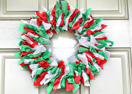 Holiday Ribbon Wreath