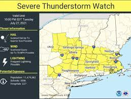 Severe thunderstorm watch forecasting ...