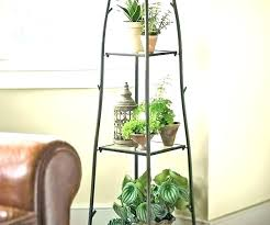 tall wooden plant stand attractive best stands cherry wood holder pot nz hold