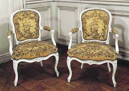 French Rococo chairs by Louis Delanois (173192); in the Bibliothque de