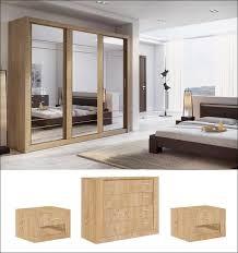 mirror effect furniture. Instrument ARTI 2 Bedroom Set [shetland Oak Effect + Mirror] - INSTRUMENT FURNITURE Mirror Furniture Y