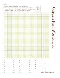 free printable garden planner