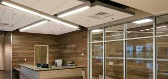 office ceilings. CANADA, Commercial, Office, New Construction, Modern, LEED Gold ,  ROCKFON(R) Sonar(TM) DB, And Alaska(TM) Acoustic Stone Wool Ceiling Panels Office Ceilings D