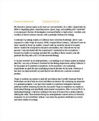 Resume Personal Statement Sample Sample Graduate Resume Personal ...