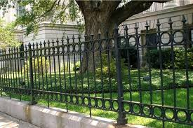 wrought iron fence ideas.  Wrought Wrought Iron Privacy Fence Fences Material Design Ideal Fencing Ideas Throughout