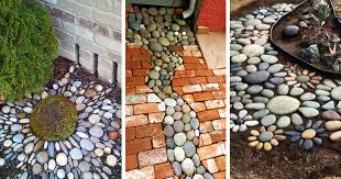 25 river rock garden ideas for