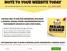 Cool Memos Memo Chimp Free Sticky Notes Software With Reseller License