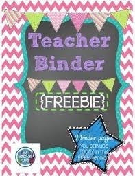 Teacher Binder Templates Free Teacher Binder Templates Rome Fontanacountryinn Com