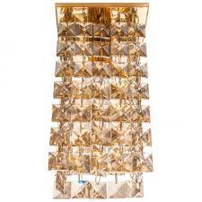 Квадратные точечные <b>светильники</b> золотого цвета купить в ...