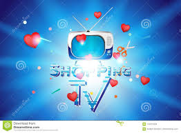 Retro Tv Online Shopping Tv The Concept For Online Sale With Voluminous