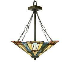 quoizel inglenook pendant with 3 lights bed bath beyond