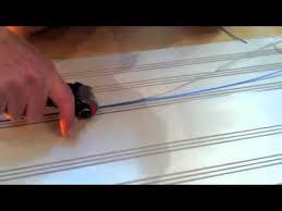 making a slot car track laying rail and lock wire making a slot car track laying rail and lock wire