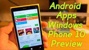 How To Change Where Apps Are Installed On Android How To Install Android Apps On Windows Phone 10 Preview Easy Guide
