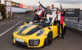 porsche gt2 rs 2018.  gt2 2018 porsche 911 gt2 rs nurburgring lap record run and porsche gt2 rs