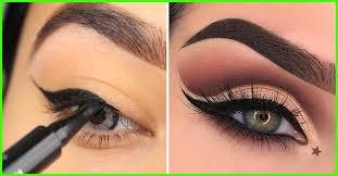 eye makeup types vector infographic makeup eyelash beauty makeup female cosmetic fashion makeup eyebrow closeup makeup eyelid ilration
