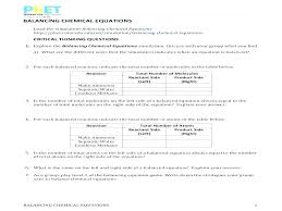 ing chemical equations worksheet 1