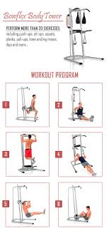 Bowflex Bodytower Power Tower Review Manual Exercises