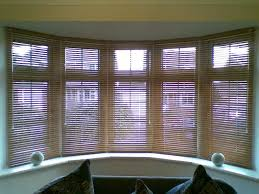 Window Blinds  Bay Windows Blinds Chalk With Matching Tapes In Bay Window Vertical Blinds