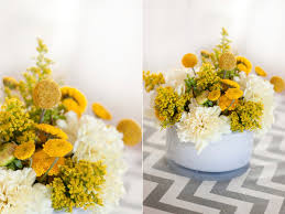 ... Good Looking Accessories For Table Decoration With Yellow Flower  Centerpiece : Heavenly Image Of Accessories For ...