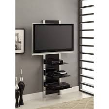 tv mount stand. altramount black and chrome wall mount tv stand for tvs up to 60\ tv 6